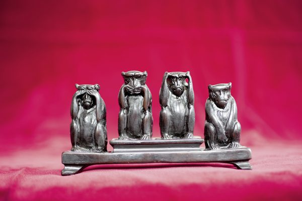 Die berühmten vier Affen | Adrian Müller