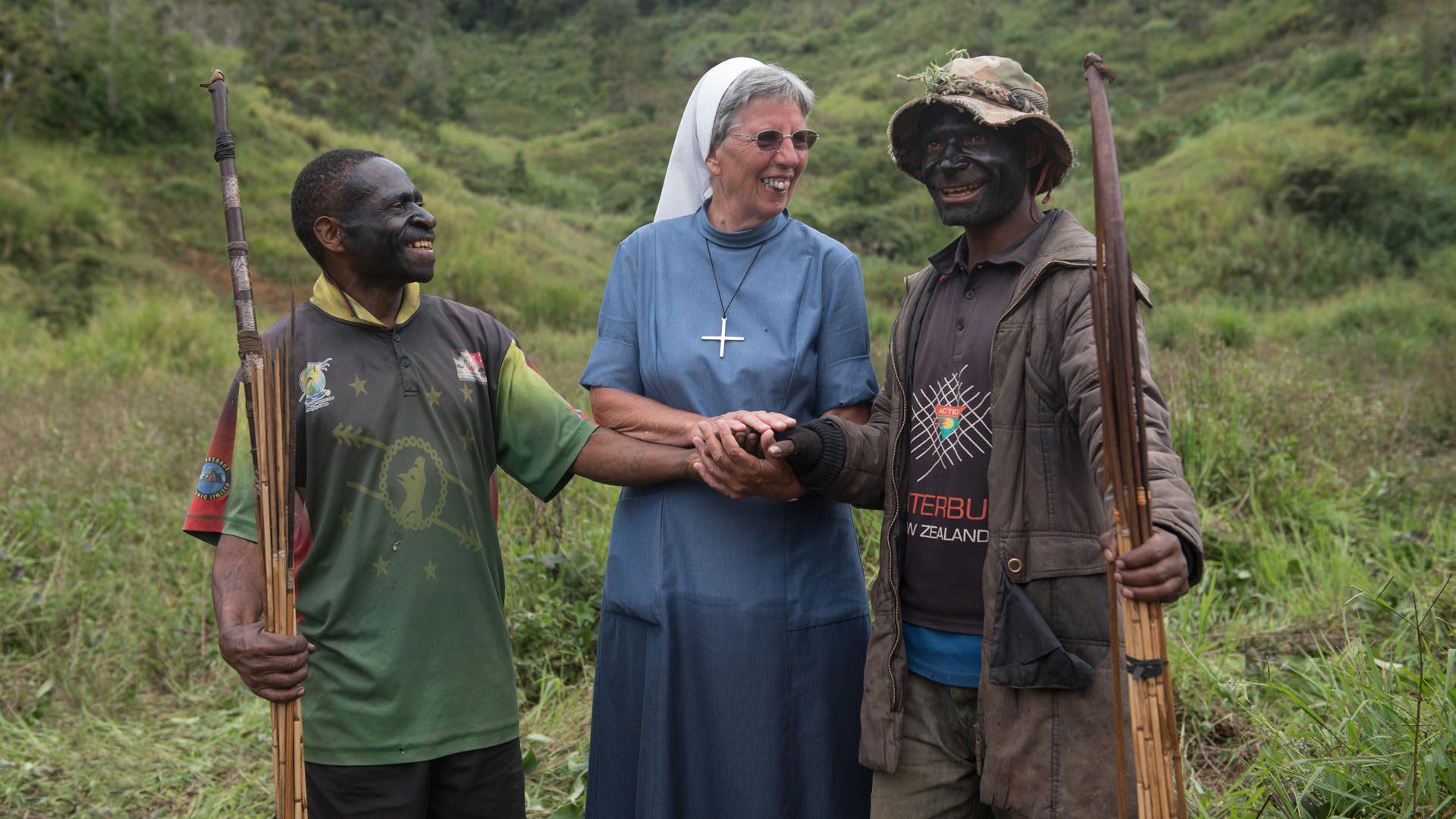 Schwester Lorena als Friedensstifterin © missio Aachen