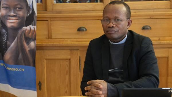 Matthieu Loua, Generalsekretär der OCPH-Caritas Guinea © Sigfried Ostermann, Missio