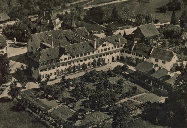 Klostergarten um 1920