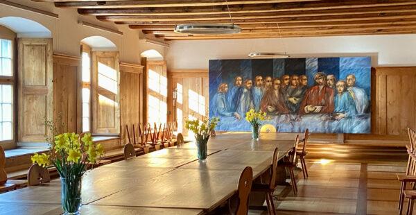 Fra Roberto, Letztes Abendmahl, Kloster Wesemlin
