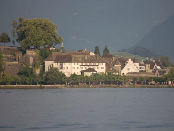 Kloster von Feldbach her