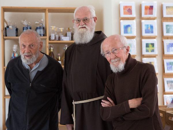 Br. Eckehard; Br. Adjut; Br. Josef