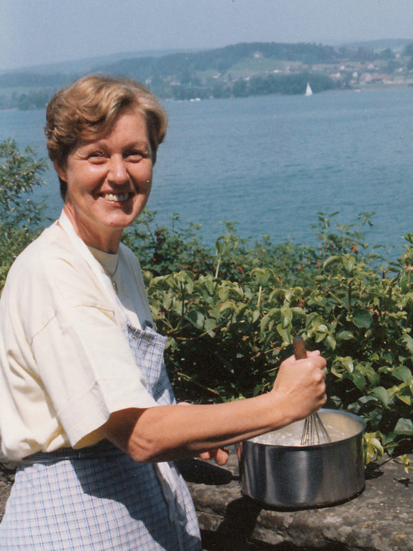 Brigitte Steiner vor 25 Jahren