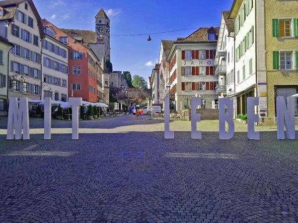 Mitleben-Hauptplatz