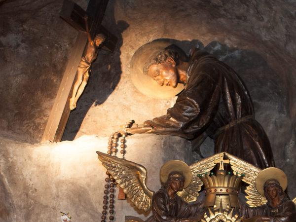 Antonius von Padua im Gebet
