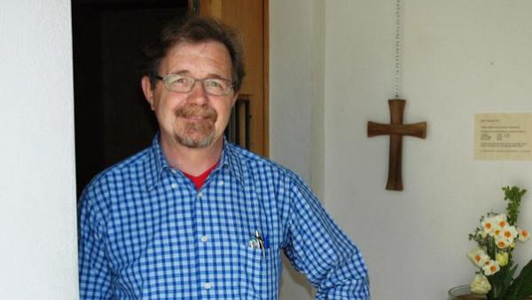 An der Klosterpforte: Seine Arbeit als Pförtner und seine zusätzlichen Aufgaben machen Marco Studer viel Freude.