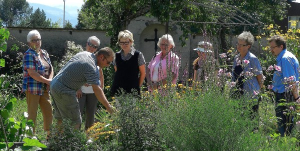 Führung durch den Klostergarten