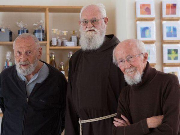 Br. Eckehard - Br. Adjut - Br. Josef