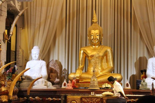 Der Zahn des Buddha im Tempel Dalada Maligawa © Stefan Rüde
