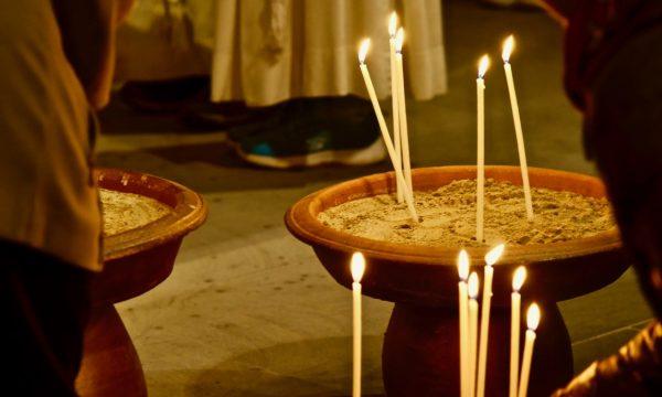 Kerzen in der Kirche | © Beat Pfammatter 2019