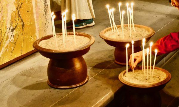 Kerze für den Frieden | © Beat Pfammatter 2019