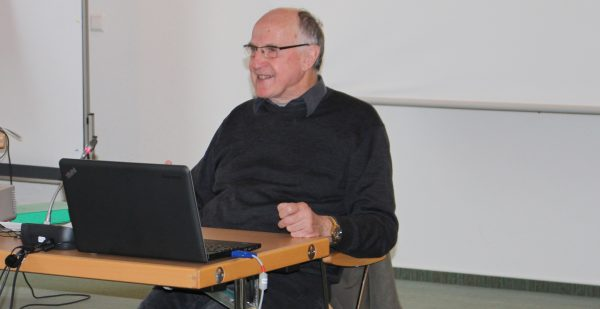 Udo Schmälzle während des Referates © Stefan Rüde